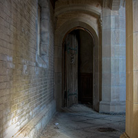Belltower Door