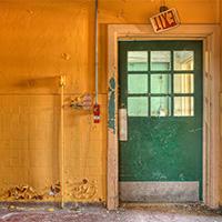 Cafeteria Door